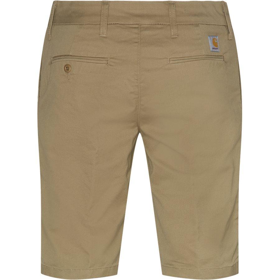 SID SHORT. I010722 - Sid Shorts - Shorts - Slim - LEATHER RINSED - 2